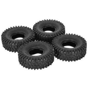 4pcs Austar Ax-5020 1.9 Inch 120mm Rock Crawler Tires For 1/