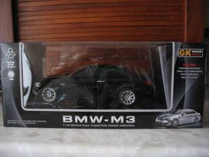 Auto Bmw M3 De Control Remoto Negro Escala 1:18 Oficial Bmw