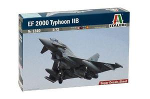 Avión Ef 2000 Thypoon Twin Seater Escala 1:72 Italeri 1340