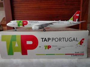Avion Airbus A321 Tap Portugal Marca Jc Wings Escala 1:200
