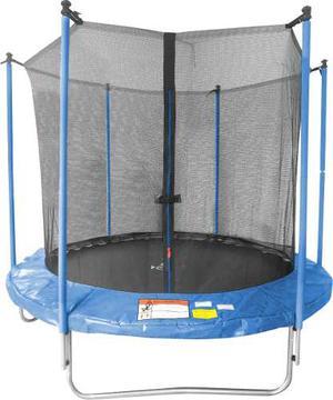Brincolin Trampolin Infantil 8 Pies 2.4m Con Red Seguridad