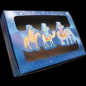 Cajas para roscas de reyes y bolsa con publicidad