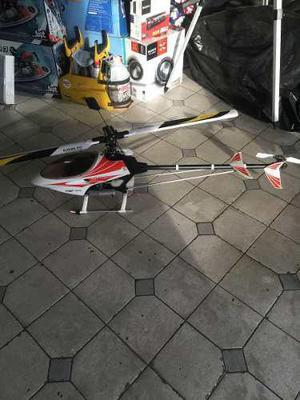 Helicoptero Rc Raptor 30 Nitro Listo Para Volar