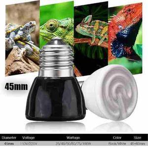 Radiador Ceramico Para Reptiles Cachorros 50 W 220/110 V