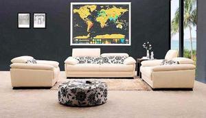 Scratch Map Delux Mapa De Rascar Del Mundo Regalo