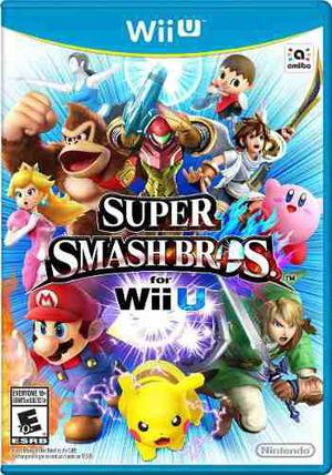 Super Smash Bros Para Wii U - Disco Físico Nuevo Y Sellado!