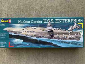 U.s.s. Enterprise By Revell Germany # 5046 Escala 1/720