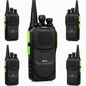 5 * Uhf Baofeng Gt-1 Jamón De Dos Vías Radio Fm