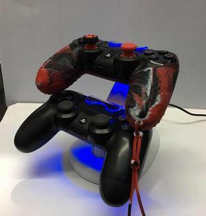 Base Cargador Para 2 Controles Dualshock 4 Sony Ps4 Nuevo
