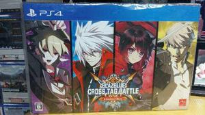 Blazblue Cross Tag Battle Limited Box Ps4 Nueva