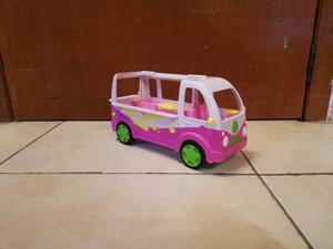 Carrito fud truck de polly pocket carrito para muñecas