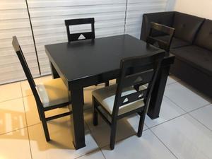 Comedor / Ante comedor con 4 sillas