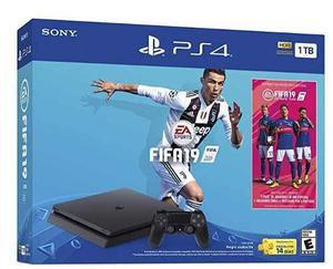 Consola Playstation 4 Ps4 De 1 Tb Con Juego Fifa 19