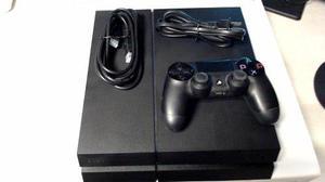 Consola Ps4 Completa Con Caja Original, Control Y Cables