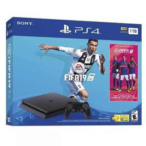 Consola Ps4 Slim 1 Tb Fifa 19 Playstation 4 Nuevo