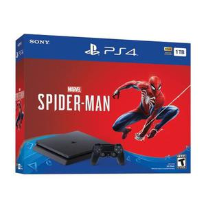 Consola Ps4 Slim 1tb Bundle Spider Man Nuevo Sellado 18 Msi