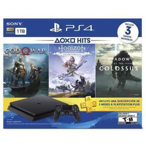 Consola Ps4 Slim 1tb Con Hits Bundle En D3 Gamers
