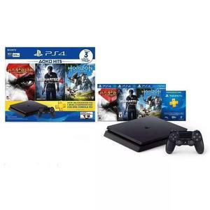 Consola Ps4 Slim 500 Gb Bundle 3 Juegos Envio Gratis