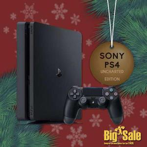 Consola Ps4 Slim 500gb + Uncharted 4 Envío Gratis + Regalo
