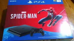 Consola Sony Ps4 Slim Play Station 4 Spiderman Nuevo Sellado