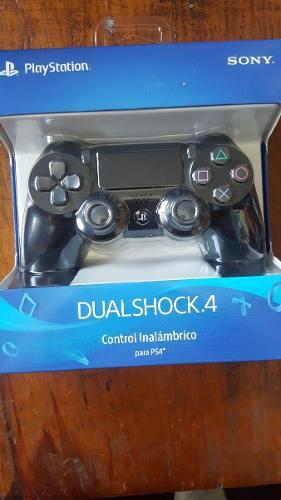 Control Dualshock 4 Negro Para Ps4 Original Nuevo::..