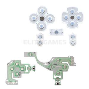 Flex Membrana + 2 Sets Gomas Control Ps4 V3 Playstation Sony