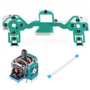 Flex Membrana + Joystick + Flex Original Ps4 Control V1 / V2