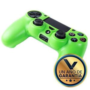 Funda Verde De Silicon Para Control Ps4:: Virtual Zone