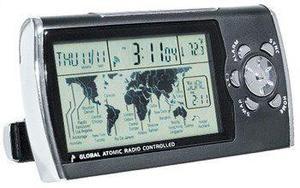 Global Radio Controlado Reloj Despertador