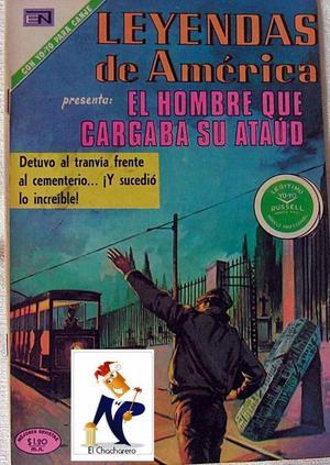 LEYENDAS DE AMERICA EL HOMBRE QUE CARGA SU ATAUD
