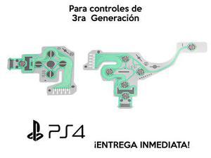 Membrana Flex Para Control De Ps4 3ra Generación