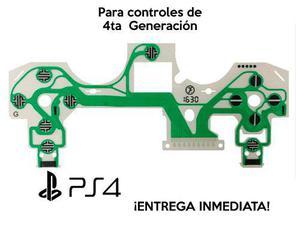 Membrana Flex Para Control De Ps4 Pro Y Ps4 Slim (nueva) 4.0