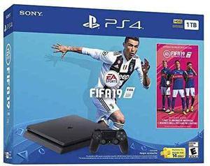 Playstation 4 Ps4 + Fifa 19 Nuevo