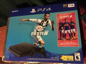 Playstation 4 Slim Ps4 1tb Con Fifa 19 Lee Bien Descripcion!