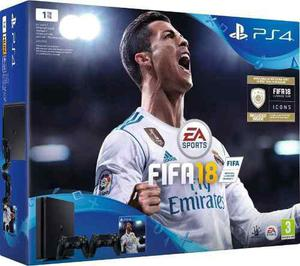 Playstation 4 Slim Ps4 1tb Fifa 18 Nuevo
