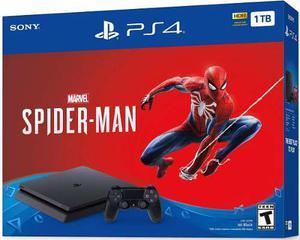 Playstation 4 Slim Ps4 1tb Spiderman Nuevo