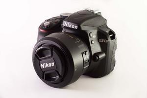 Camara Nikon D Con Accesorios Y Lente 35mm F1.8