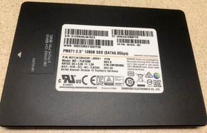 Disco Duro Solido Ssd 128 Gb Samsung 6 G/s 2.5
