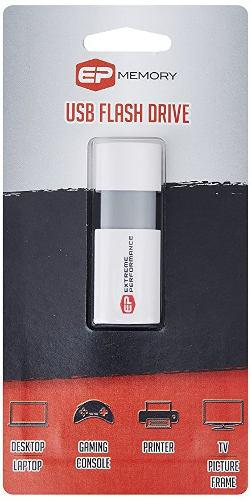 Ep Memory 8 Gb Usb 2.0 Capless Wave Flash Drive Epclw/8gb-2.