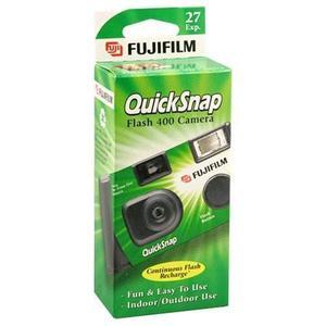 Fujifilm Quicksnap Flash 400 Cámara Desechable De 35 Mm (pa