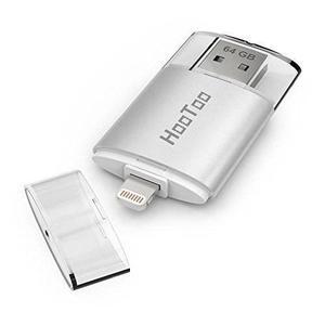Hootoo Iphone De 64 Gb Usb 3.0 Flash Drive Con Lightning Alm