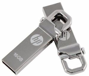 Hp® Usb Flash Drive 16 Gb Mod. V250w Metalica Mac & Pc