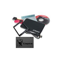 Kit Instalacion Carcasa Cable + Disco Duro 120 Gb Kingston