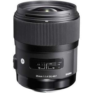 Lente Camara Nikon Sigma 35mm F1.4 Dg Hsm