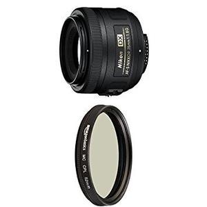 Lente Nikon Af-s Nikkor 35mm F/1.8g Con Filtro Polarizante