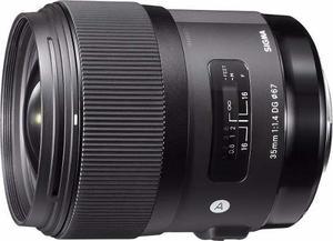 Lente Sigma 35mm F1.4 Art Dg Hsm Lens Para Sony