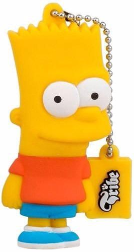 Memoria Usb 8gb Bart Simpson Tribe Usb 2.0 Flash Drive