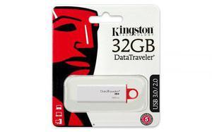 Memoria Usb Flash 3.0 Kingston Datatraveler G4 32gb Blan/ro