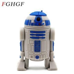 Memoria Usb R2-d2 Star Wars.