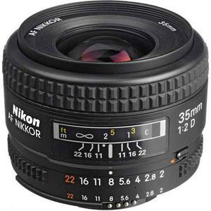 Nikon Af Nikkor 35mm F/2d - (ml)